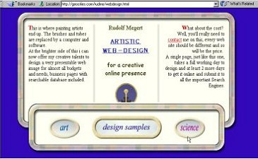 visuelles HTML web design
